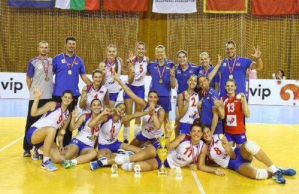 serbia campioana balcanica junioare