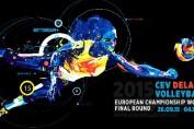 afis campionat european volei 2015