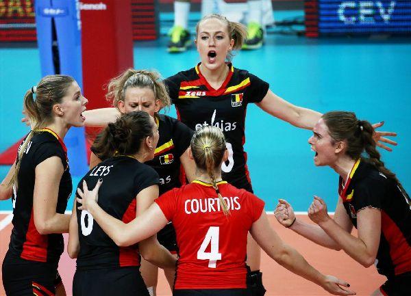 volei belgia bucurie campionat european