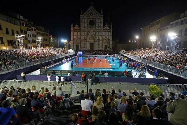 500 de spectatori au asistat la amicalul Italia - Azerbaidjan disputat in Piata Santo Croce
