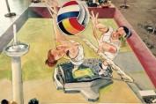 pictura 3d campionat european volei
