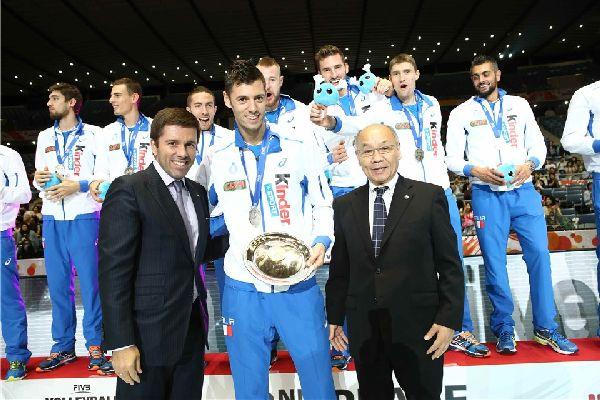 italia cupa mondiala volei argint