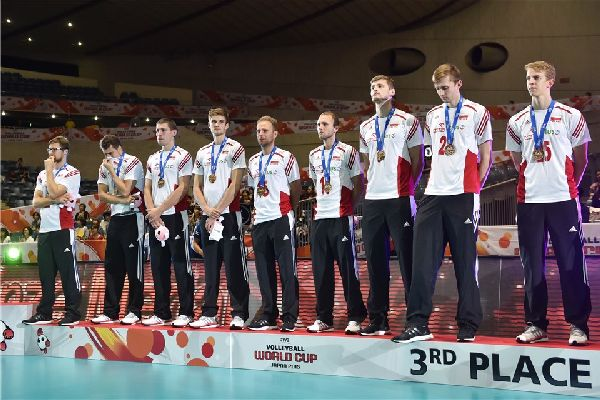 cupa mondiala volei polonia bronz