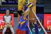 romania serbia volei campionat european