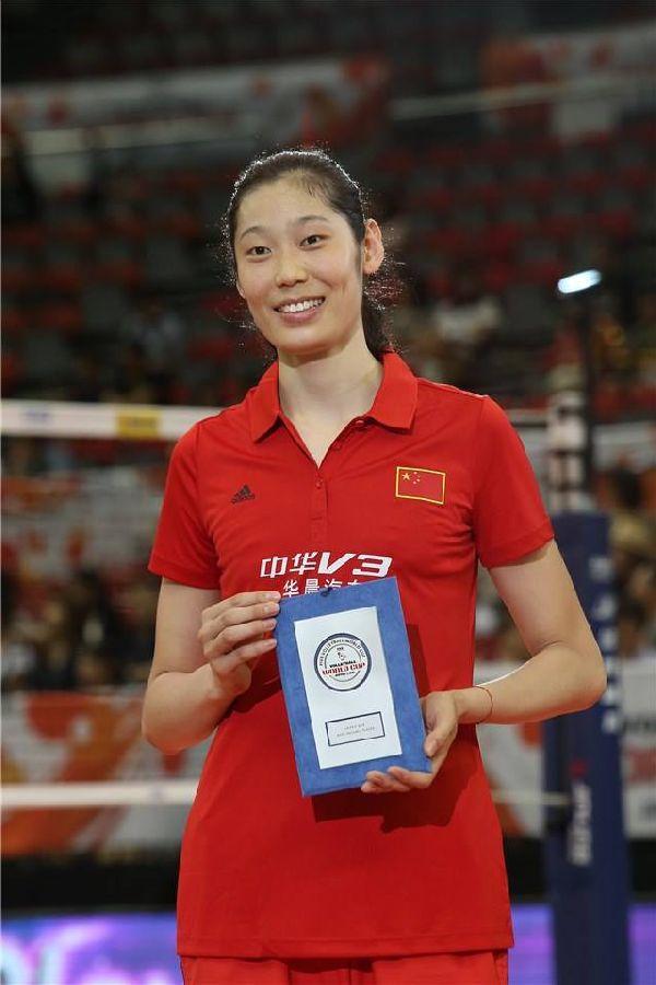 Ting Zhu, MVP-ul turneul feminin al Cupei Mondiale