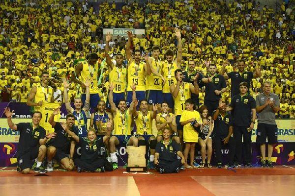 brazilia volei masculin campioana america de sud