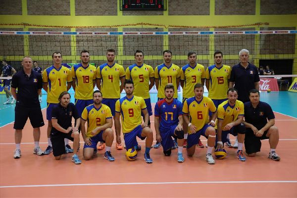 nationala volei masculin romania seniori