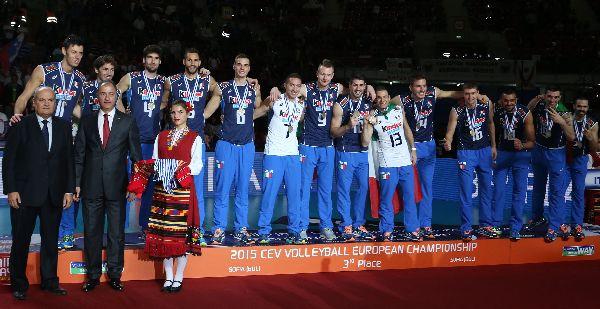 italia volei europene premiere bronz