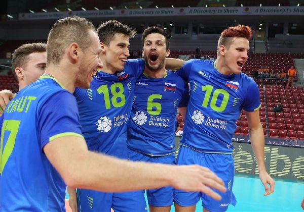 volei slovenia bucurie european masculin