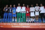 echipa ideala campionat european volei