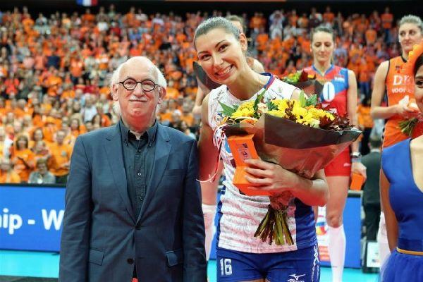 Irina Zaryazhko rusia volei europene