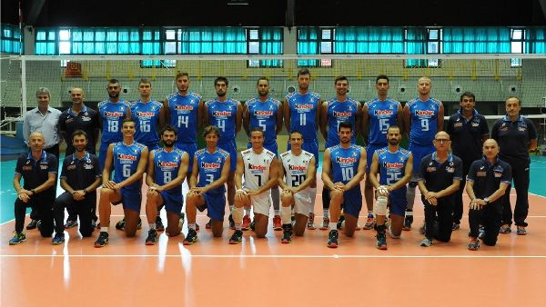italia nationala campionatul european volei