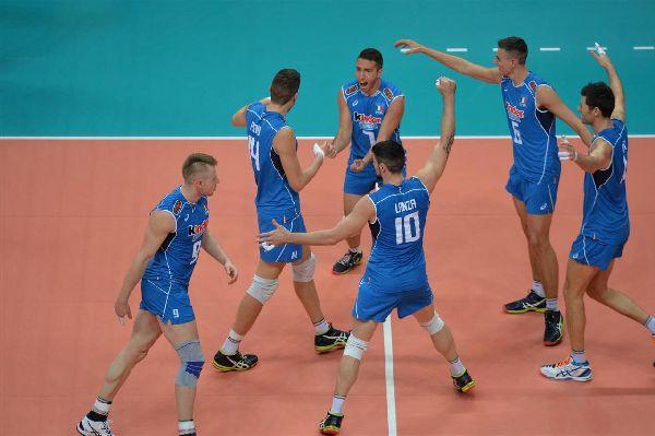 volei europene italia masculin echipa