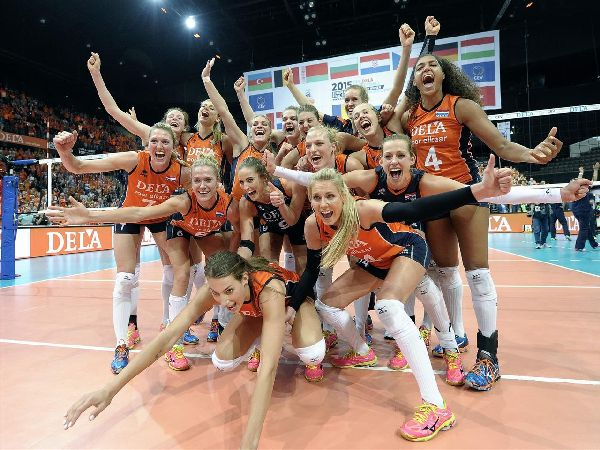 olanda bucurie campionat european volei