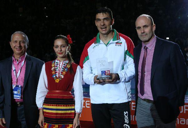 Viktor Yosifov principal europene premiu