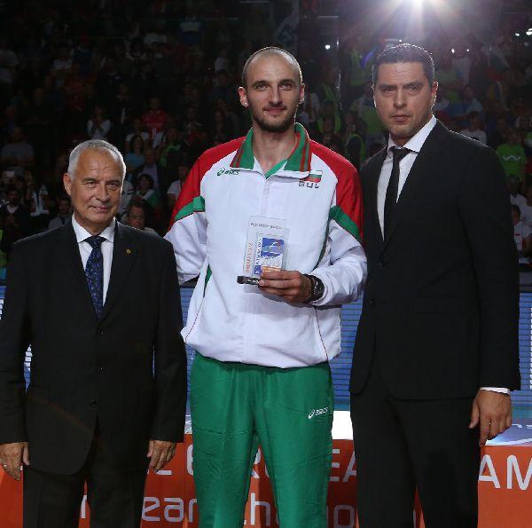 Teodor Todorov volei principal premiu