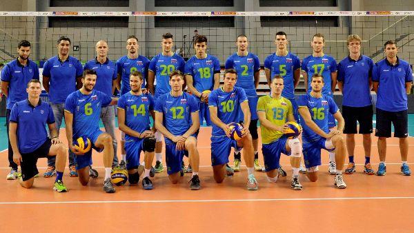slovenia campionate europene volei