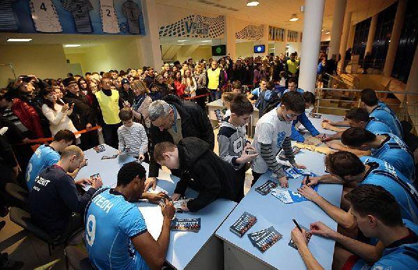 zenit kazan volei autografe fani