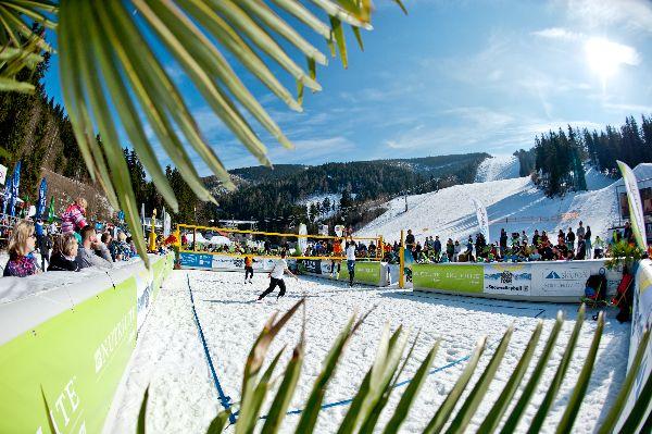 snow volleyball volei zapada circuit
