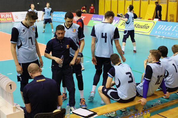 romania volei time out