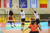 romania under 20 volei europene