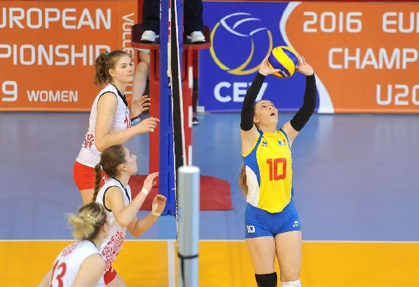 theodora stan volei romania under 19