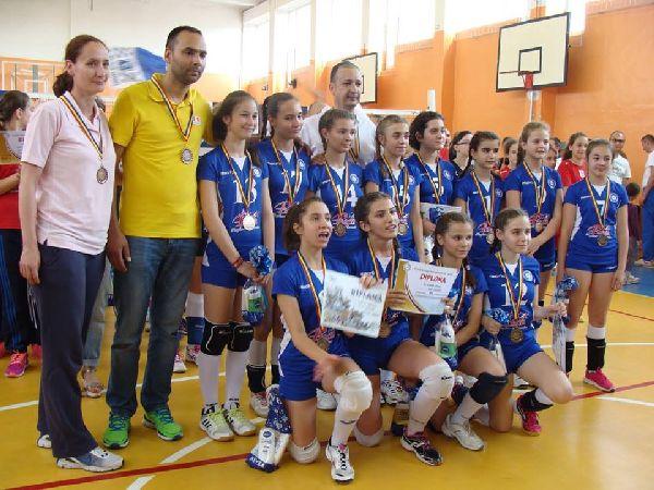 craiova minivolei feminin bronz echipa