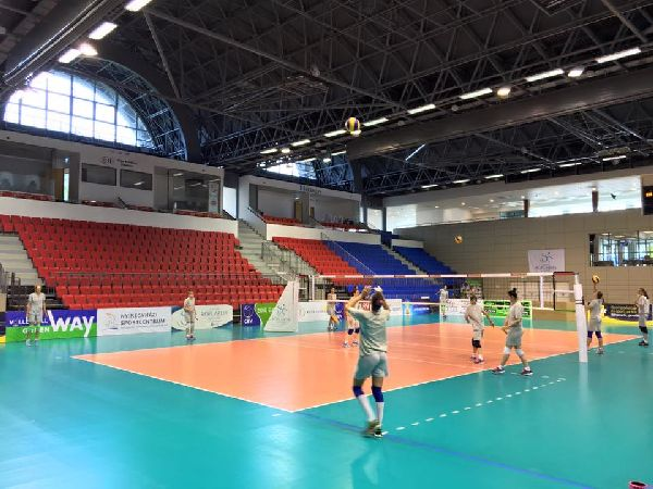 nationala volei romania feminin antrenament