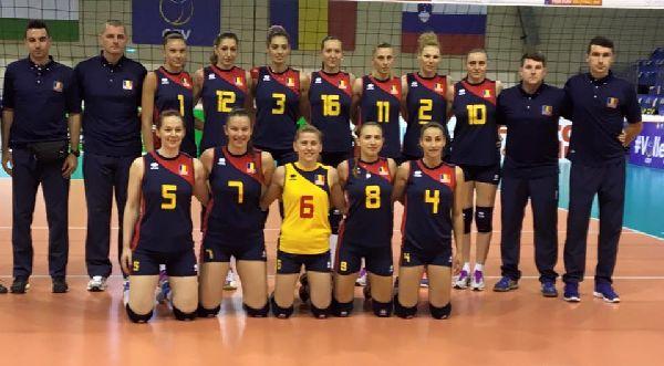 romania volei feminin nationala echipa