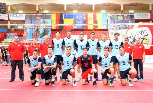 nationala under 20 romania volei masculin