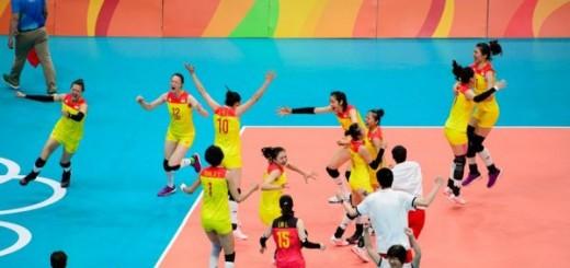 Bucuria chinezoaicelor după cucerirea titlului olimpic
