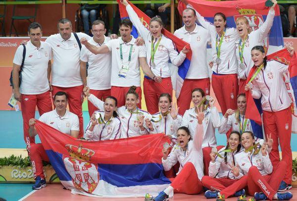 serbia medalia argint olimpic volei