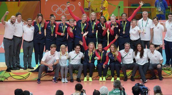 sua jocurile olimpice volei feminin