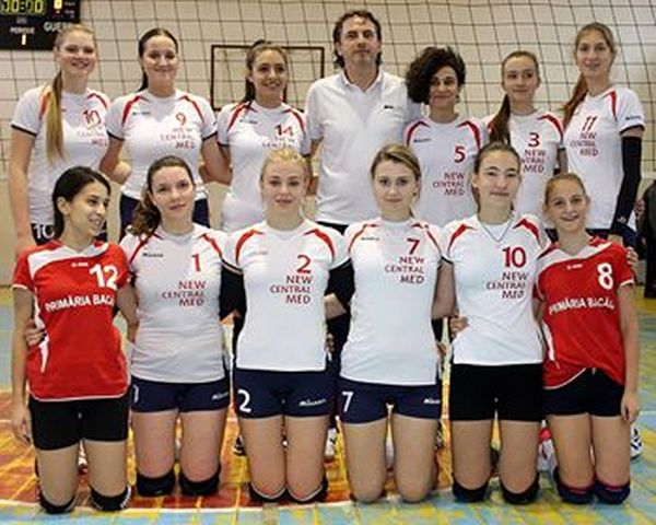 Echipa de junioare a CSS Bacău