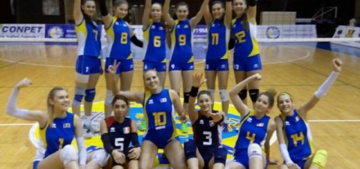 bucurie nationala romania cadete volei