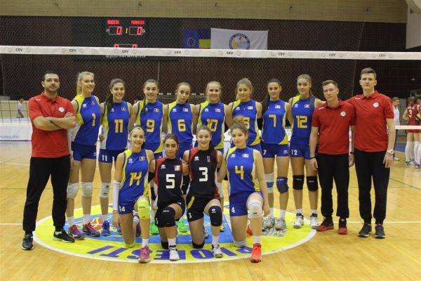 nationala cadete volei echipa romania
