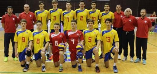 romania volei cadeti nationala echipa