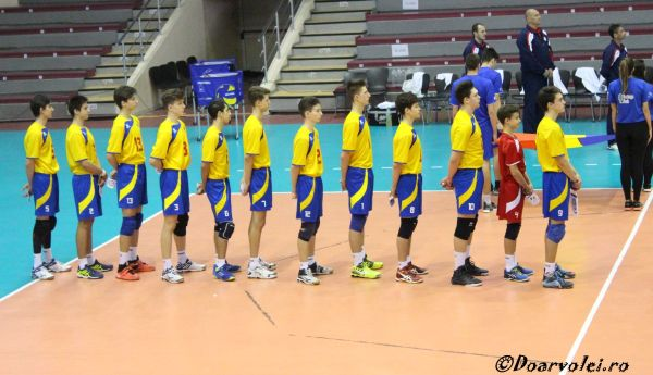 nationala romania under 17 volei rudor constantinescu
