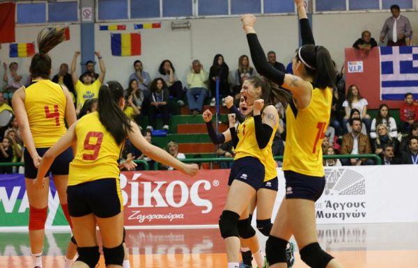 nationala romania under 16 calificare campionat european