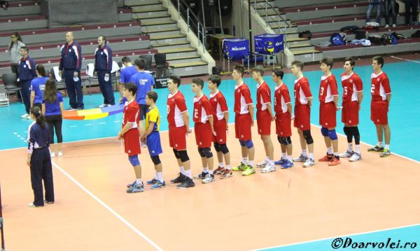 romania under 17 nationala volei tudor constantinescu