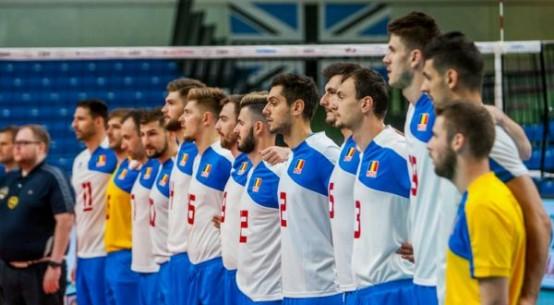 romania volei seniori echipa nationala