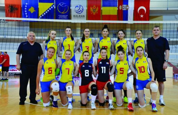 romania nationala echipa volei under 19
