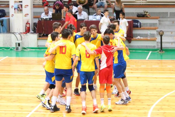 balcaniada romania volei masculin nationala