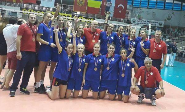 Nationala U16 a Romaniei a cucerit bronzul la Balcaniadă