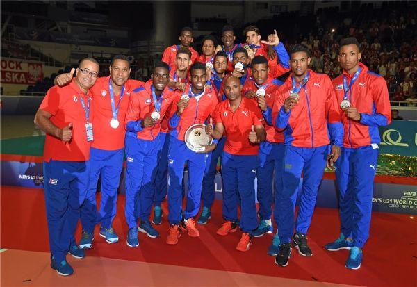 cuba argint campionat mondial under 21