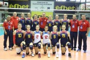 romania under 16 volei echipa