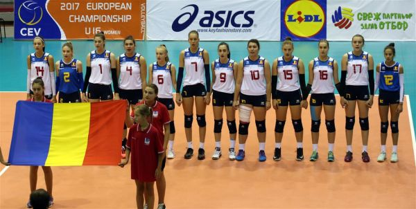 romania under 16 volei europene