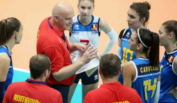 romania under 16 europene volei