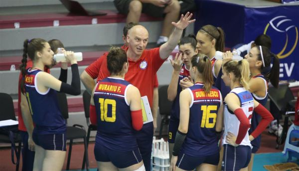 romania volei under 16