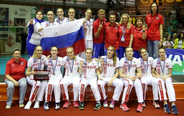 rusia argint echipa volei under 16